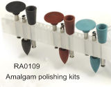 Polierinstallationssätze des zahnmedizinischen Amalgams RA0109