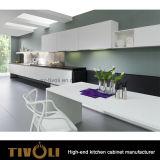 Мебель кухни белой картины MDF Matt деревянная (AP041)
