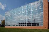 Скрытые и открытые рамки стекла наружной стены (профессиональный дизайн)