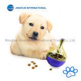 Shake Q Pet Food Ball - Diversión e Interactiva Dispensando la bola para perros y gatos: Aumentos Iq y metal Estimulación: Mejor alternativa para Bowl Alimentación: Fácil