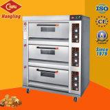 Ausgezeichneter Plattform-Gas-Ofen des Leistungs-Bäckerei-Geräten-3 seit 1979