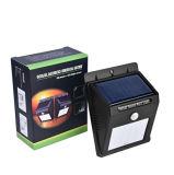PIR 움직임 태양 LED 벽 램프 헥토리터 2c38