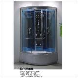 Computarizado Popular vidrio ducha de vapor el cuarto de baño