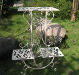塗られる粉が付いている古風にされた特別な庭プランターホールダー