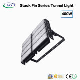 High Power 300W / 400W Stack Fin Series Luz do túnel LED com 5 anos de garantia