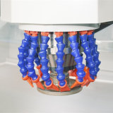 유리제 가구를 위한 수평한 3 측 CNC 유리제 가장자리 가공 기계