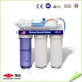 5つの段階フィルターが付いている世帯RO水清浄器