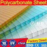 folha da cavidade da parede do policarbonato de 4-16mm multi para a HOME