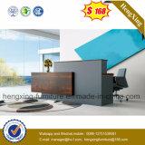 (HX-5N075) Table de comptoir de réception Meuble de bureau en bois MFC