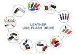 2017 Hot venda Novo Design da unidade Flash USB de couro