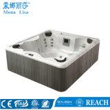 Jacuzzi libre M-3322 de la bañera de acrílico al aire libre de Monalisa 4-6 Peple