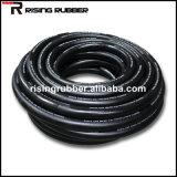 Boyau en caoutchouc noir d'industrie de surface lisse pour l'eau