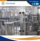 3 dans 1 machine recouvrante remplissante en hausse de bouteille d'eau minérale