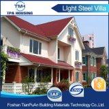 Дом виллы света панелей ГЛОТОЧКА структурно изолированная стальная