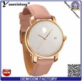 Yxl-552 2016 Fashion Man and Women Business Montre en cuir Mvmt Style Quartz Watch