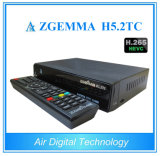 Hevc H. 265 Zgemma H5.2tc Combo DVB-S2 + 2 * DVB-T2 / C Free to Air Satellite TV Receiver