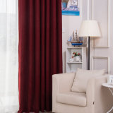 Tela contínua da cortina do escurecimento do Chenille moderno do estilo (14F0066)