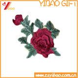 カスタム衣類のラベルおよび刺繍のバッジ、編まれたパッチ(YB-HR-393)