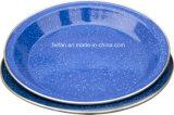 Plaque de riz d'émail sans décor ou avec le décor de Colorfull