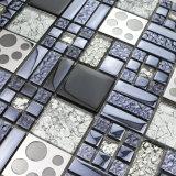 Cat Footprints Mosaico Patrones de sobremesa, metalizado Mosaico