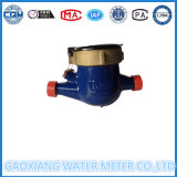 Mechanisches multi Strahlen-Leitschaufel-Rad-Wasser-Messinstrument