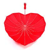 Зонтик формы сердца подарка венчания