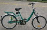 24/26 дюйма давление в шинах дамы города E велосипед электрическим током поглощают Biycle переднего электрического вилочного захвата