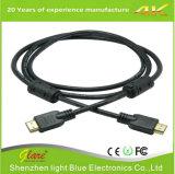 Высококачественный нейлон плести косичку металлический корпус в полосе частот 1,4/2,0 4K/2160 p кабель HDMI