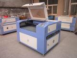 Máquina de gravura plástica acrílica de borracha do laser da madeira Ck1290