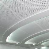 Plafond acoustique en aluminium pour salle de réunion en utilisant