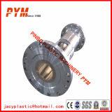 Barril bimetálico del tornillo de la película del HDPE del perfil del PVC