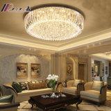 Het moderne Gouden Ronde Licht van het Plafond van het Kristal voor de Hal van het Hotel