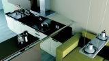 熱い販売法のアルミニウムラッカー台所現代デザイン