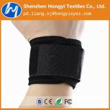 Durável de nylon preto ajustável fita velcro elástica