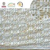 Cordón de Polyster del derretimiento de la suposición del recorte del poliester de la tela del cordón del bordado de la alta calidad 2017 para la ropa y las materias textiles caseras Ln10049