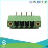 Pinos de cobre MB1.5h / V3.81 Bloco de terminais macho CE UL Plug-in