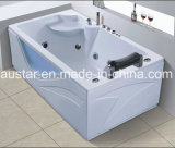 1800mm Rechthoek Corner Massage Bathtub SPA met Ce RoHS (bij-0521)