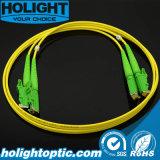 Câble de connexion de fibre optique d'E2000/APC
