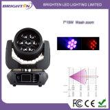小型7*15W LEDの洗浄移動段階ライト