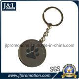 주물 아연 합금 연약한 사기질 Keychain를 MOQ 정지하십시오
