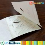 Einweg-DuPont Papier Einweg Passives RFID ID Armband