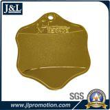 良質の顧客デザインの光沢がある金メダル