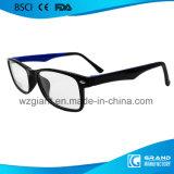 Venta caliente falso Frame Designer Custom Color TR90 de los vidrios de lectura