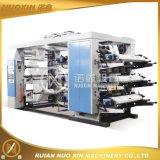 6 печатная машина Flexo цвета сплетенная PE/PP/Paper/Non
