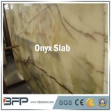 Hot Sale dalle de marbre blanc poli Onyx pour Wall Tile