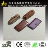 Unità di elaborazione d'offerta di alta qualità dispositivo di piegatura di cuoio del raccoglitore del portafoglio della chiusura lampo