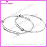 Bracelet à manche courte ajustable extensible ajustable à trois fils