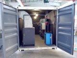 Generatore medico dell'ossigeno con la stazione di servizio del cilindro in contenitore mobile