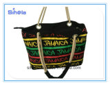 3 Colour Stripe sac fourre-tout mode d'impression