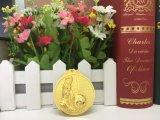 3D亜鉛合金の金の銀の青銅のフットボールのSoccorカスタムメダル